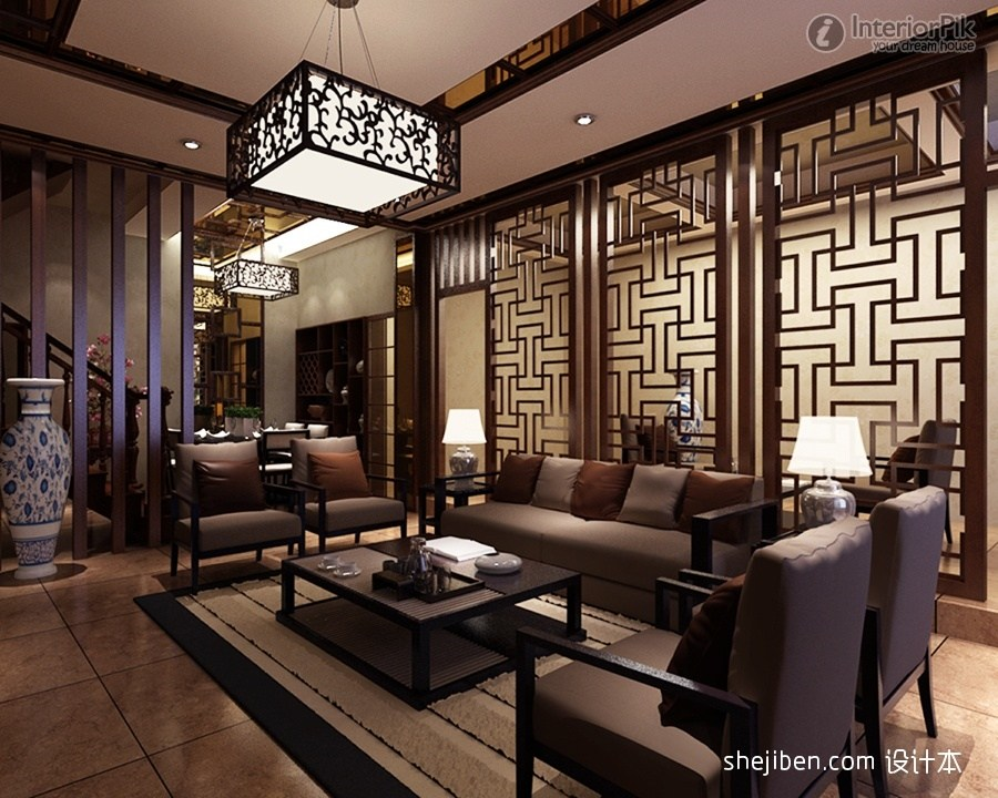 Chinese Room Divider Screens