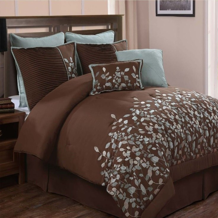 Chocolate Brown Comforter Set
