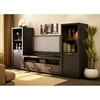 Chocolate Brown Tv Stand