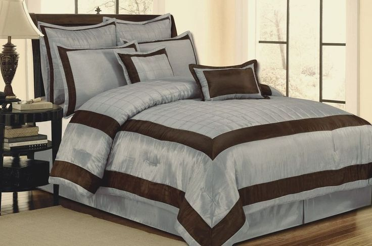 Chocolate Comforter Sets Queen