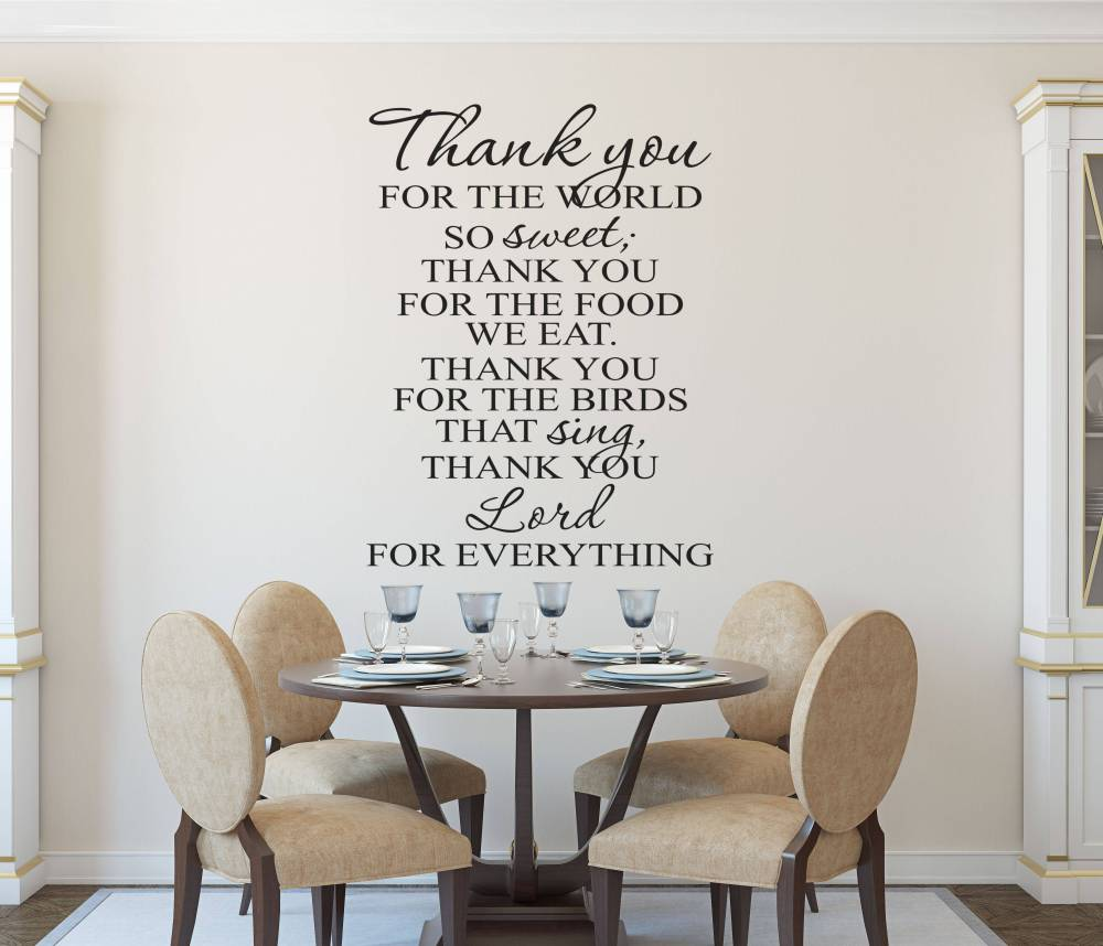 Christian Wall Decals For Living Room