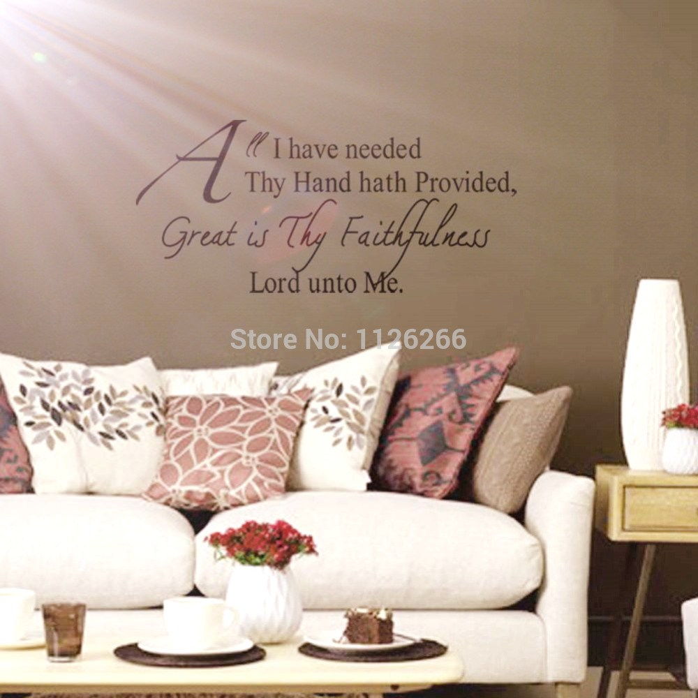 Christian Wall Decals For Nursery