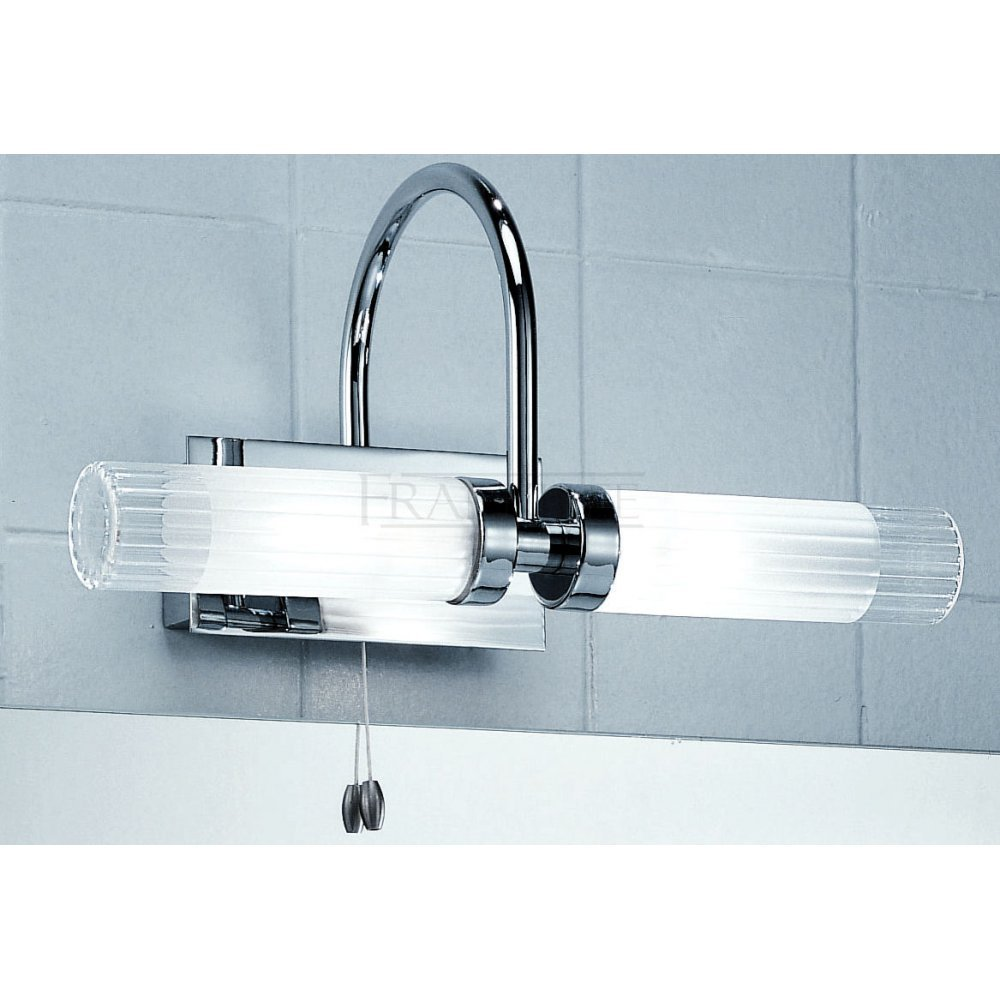 Chrome Bathroom Mirror Light