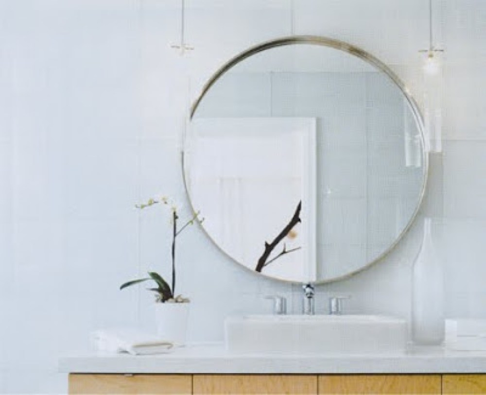 Circle Bathroom Mirror