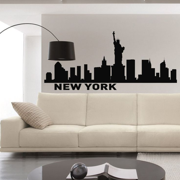 City Silhouette Wall Decals