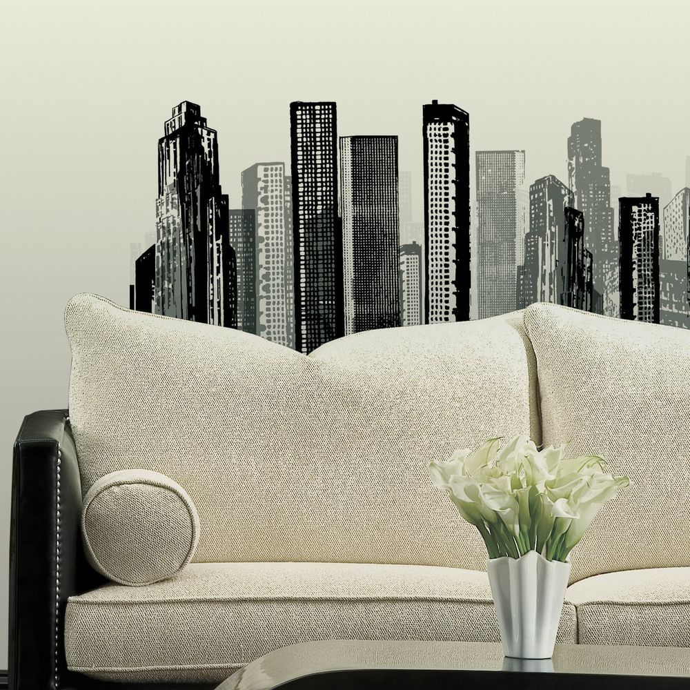 City Wall Mural Decals