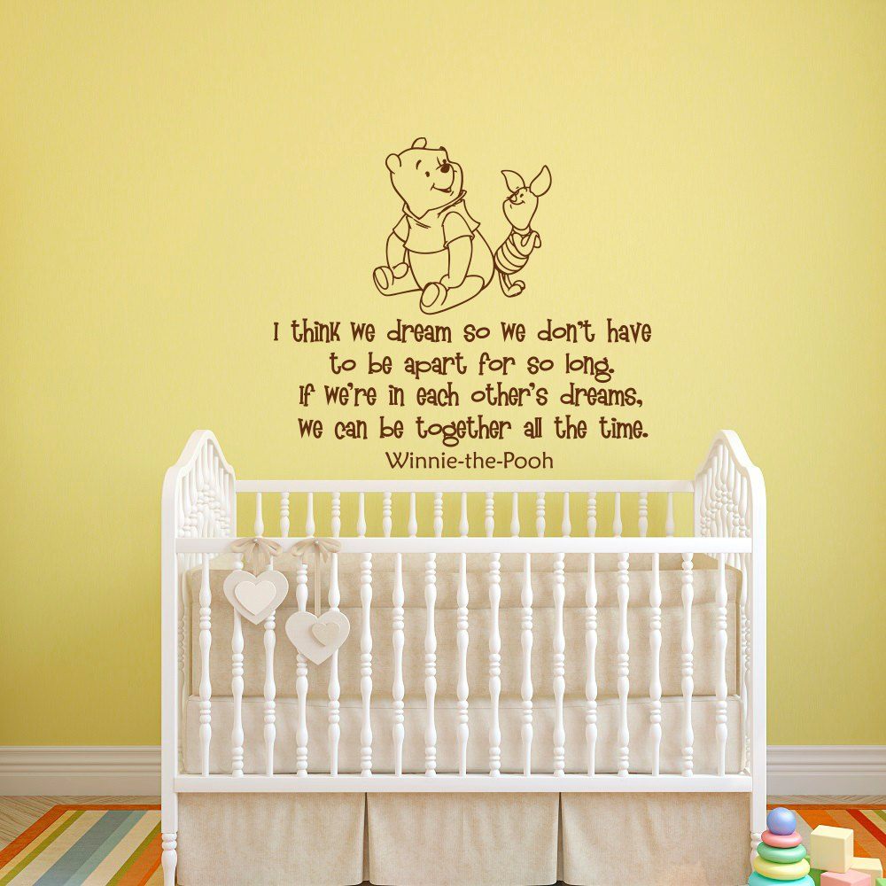 Classic Winnie The Pooh Wall Decals