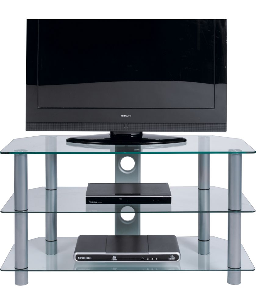 Clear Glass Tv Stand Argos