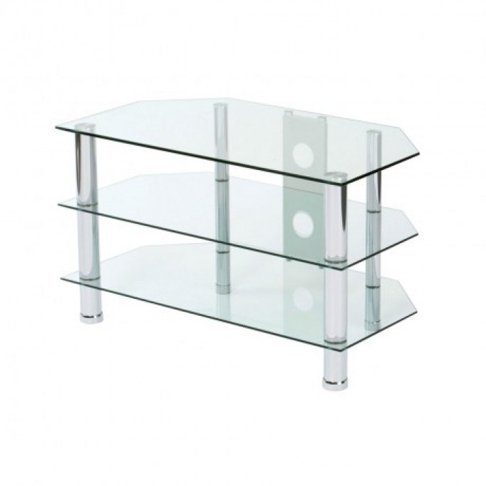 Clear Tv Stand