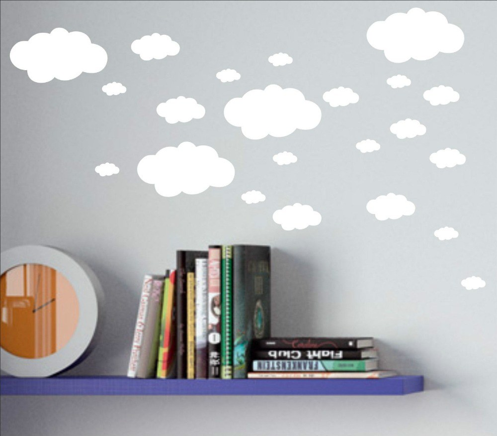 Cloud Vinyl Wall Decals