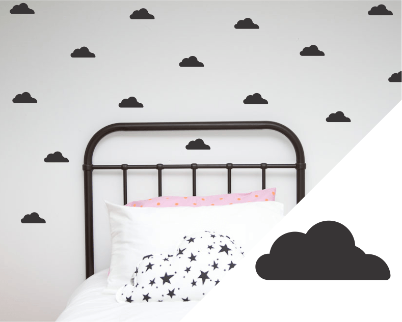 Cloud Wall Decals Australia
