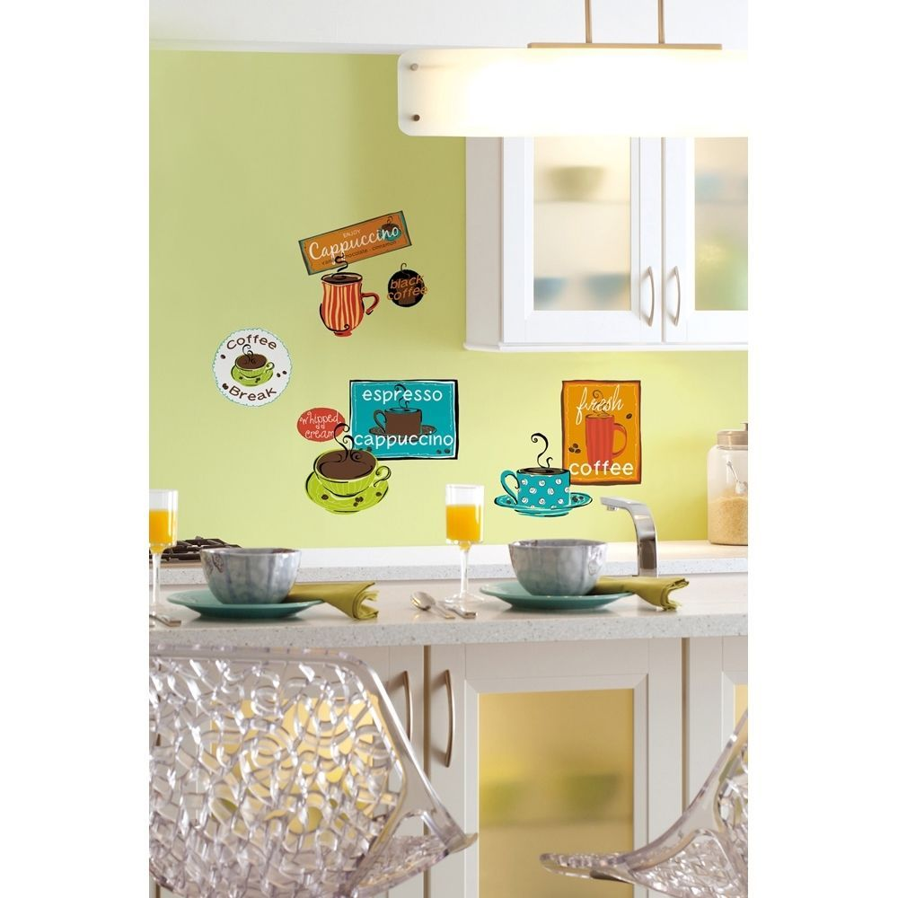 Coffee Cup Wall Decals