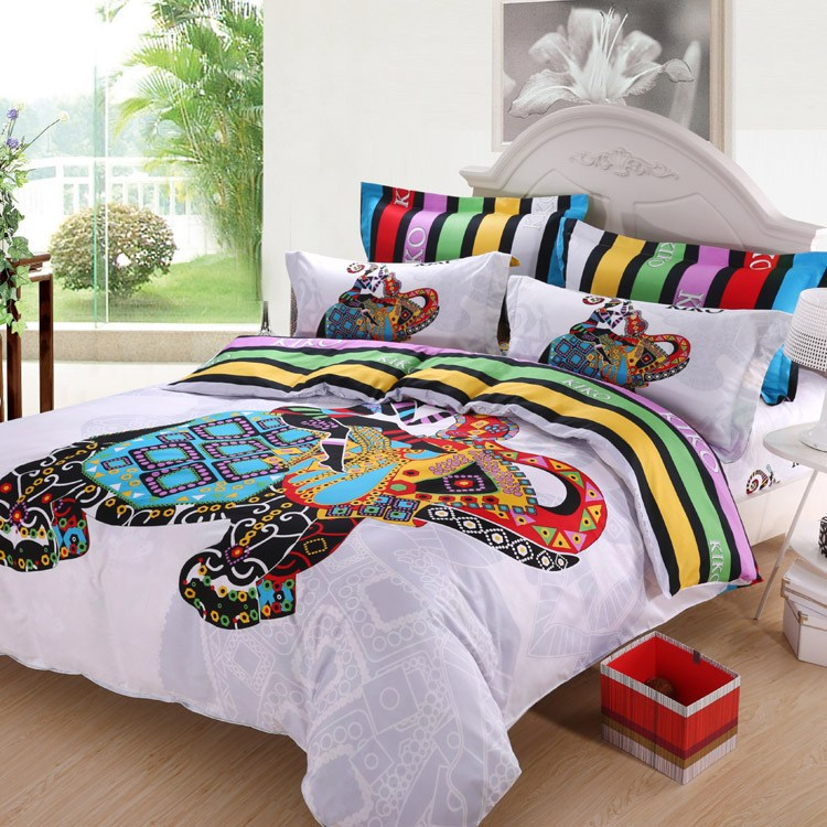 Colorful Queen Comforter Sets