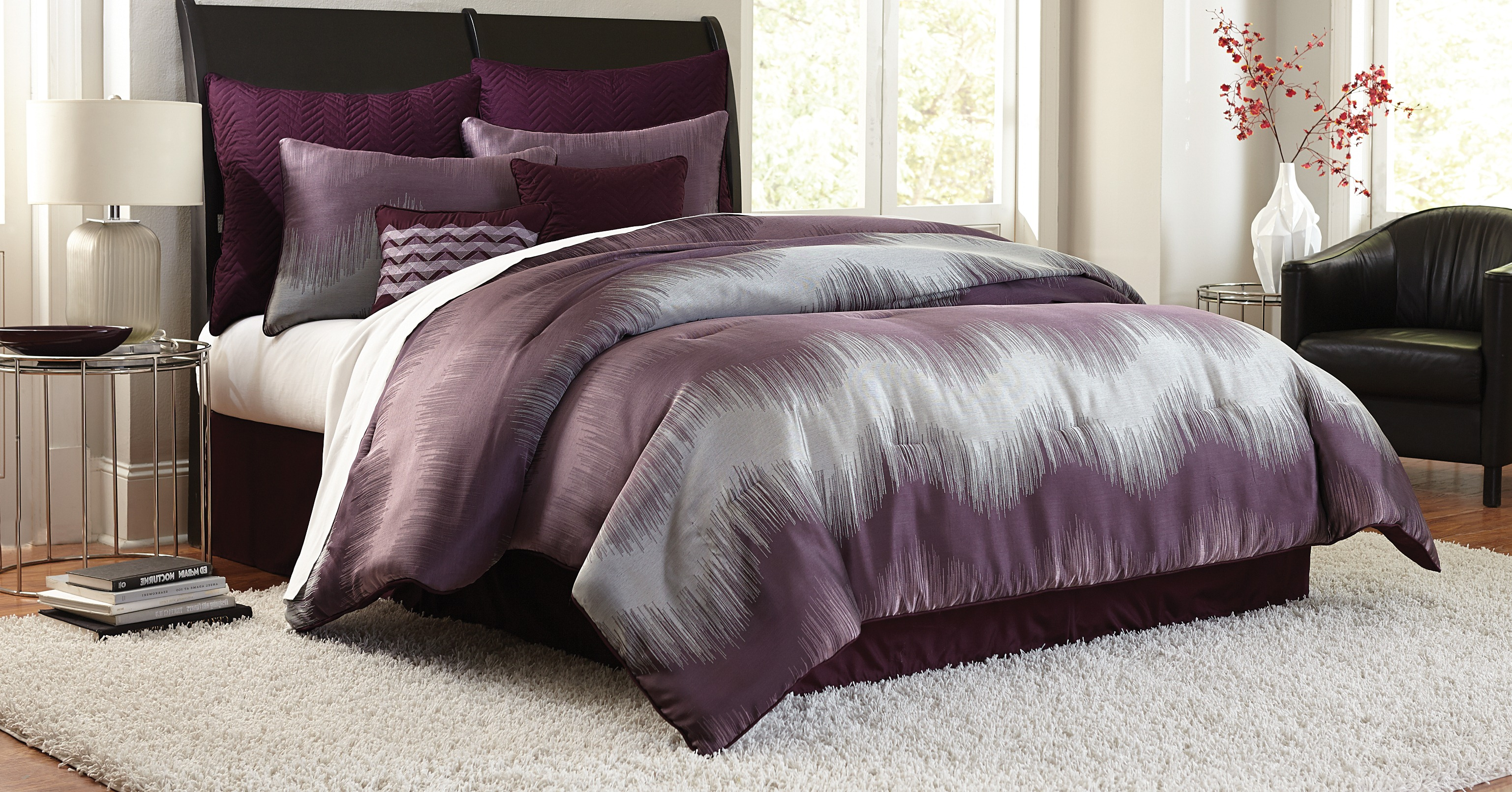 Comforter Set Purple