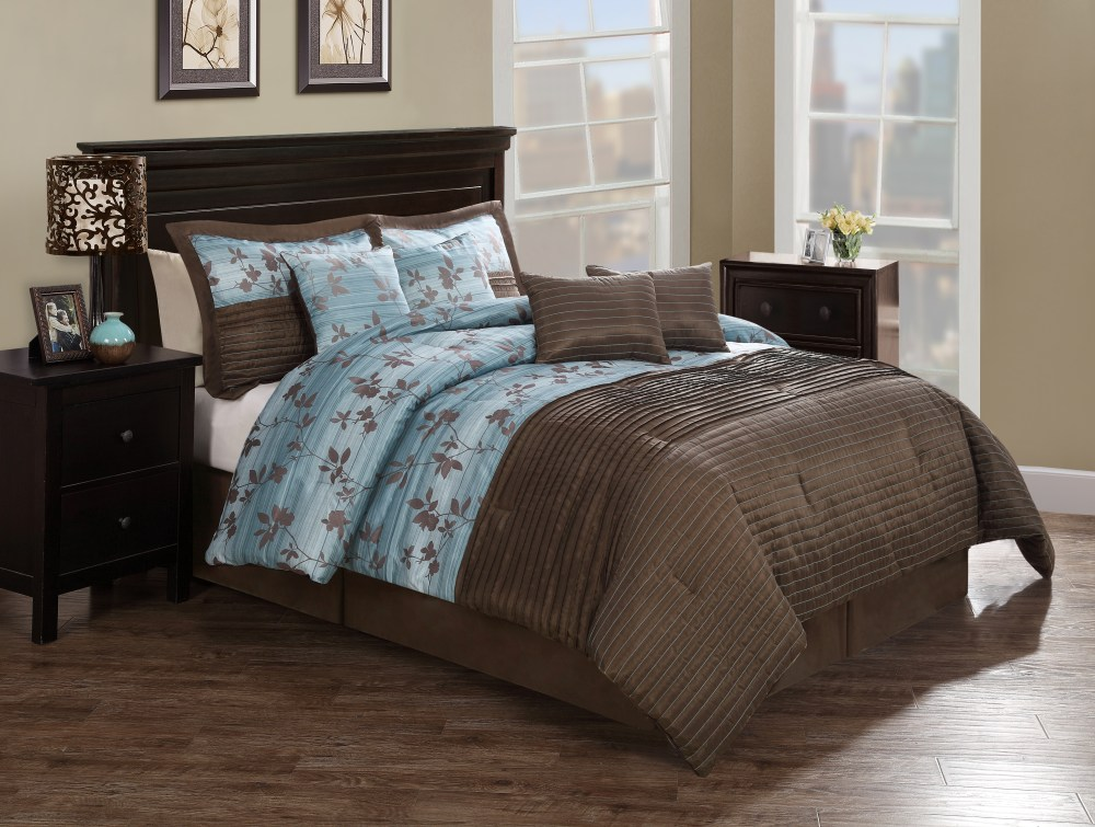 Comforter Sets Brown And Teal