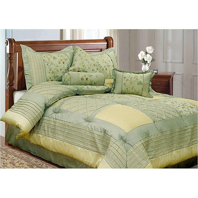 Comforter Sets King Green