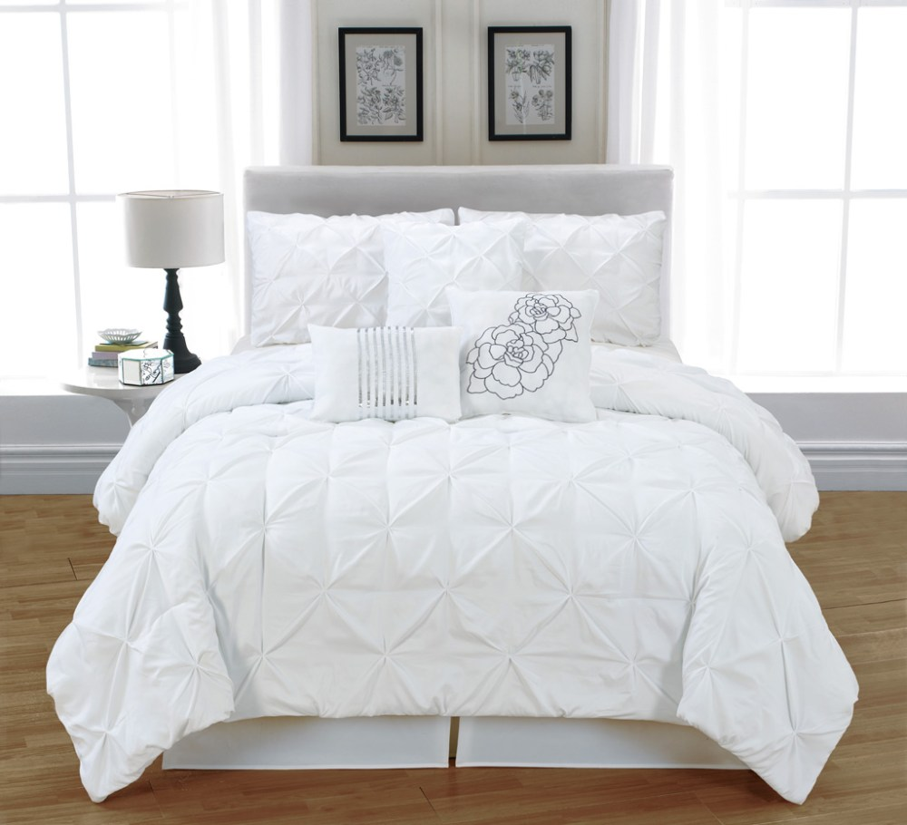 Comforter Sets Queen White