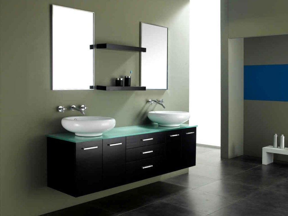 Contemporary Bathroom Vanity Mirrors
