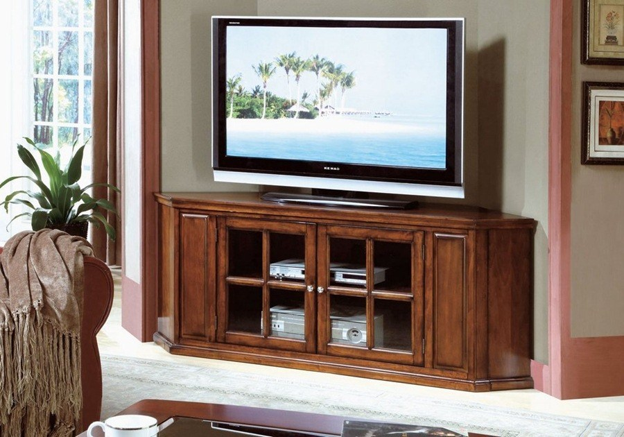 Contemporary Corner Tv Stands For Flat Screens