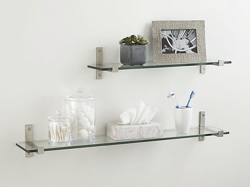 Contemporary Floating Shelves