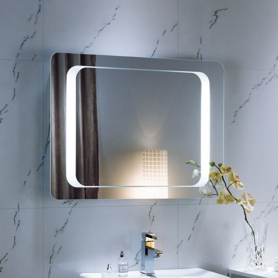 Contemporary Mirrors For Bathroom