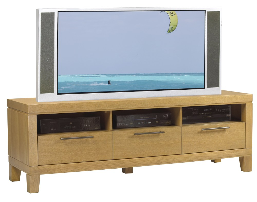 Contemporary Oak Tv Stand