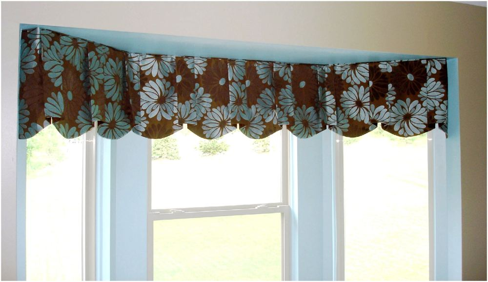 Contemporary Valances For Windows