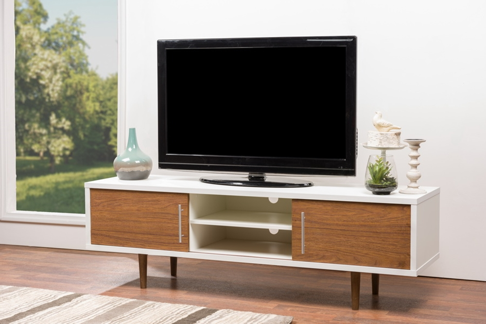Contemporary Wood Tv Stand