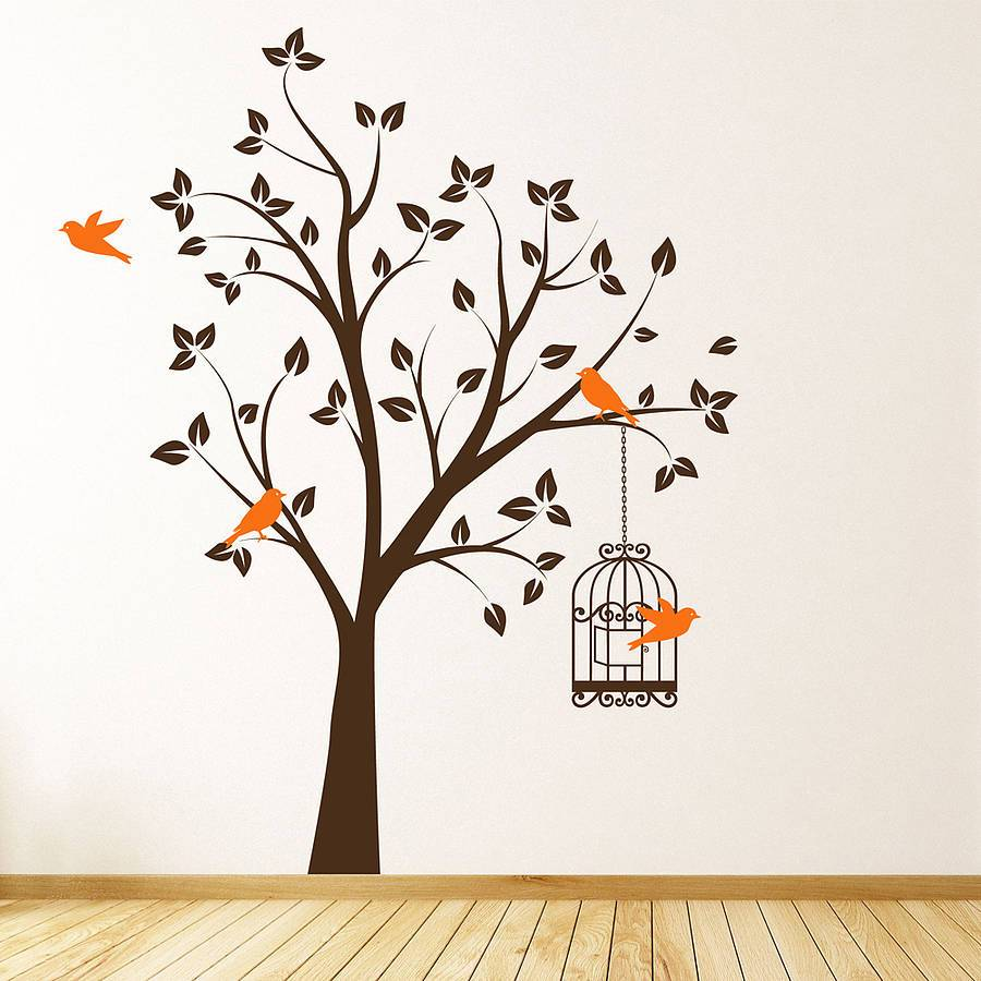 Cool Tree Wall Decals