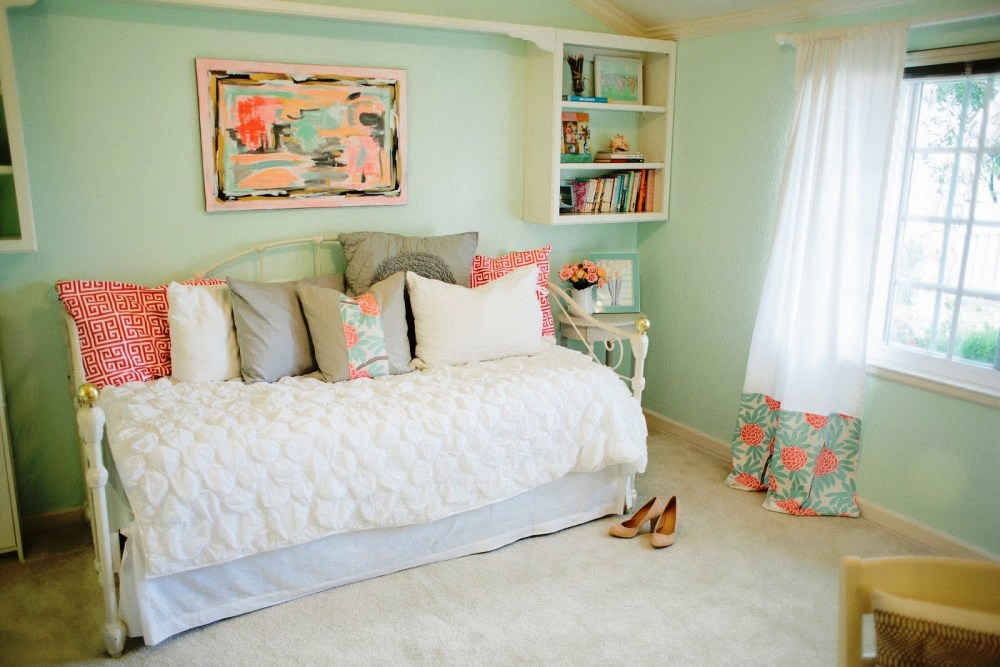 Coral Color Comforter Sets