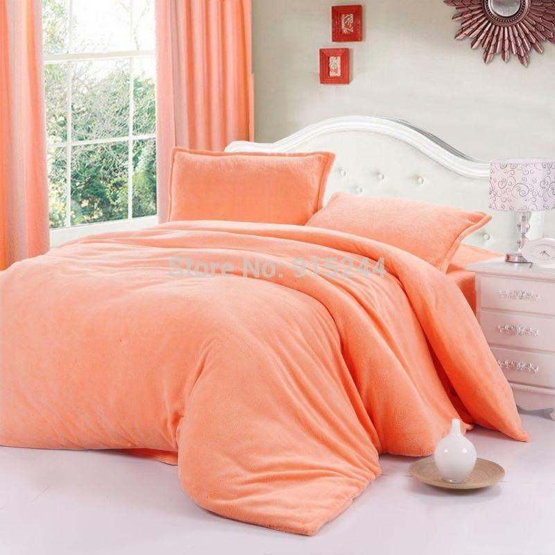 Coral Colored Comforter Set
