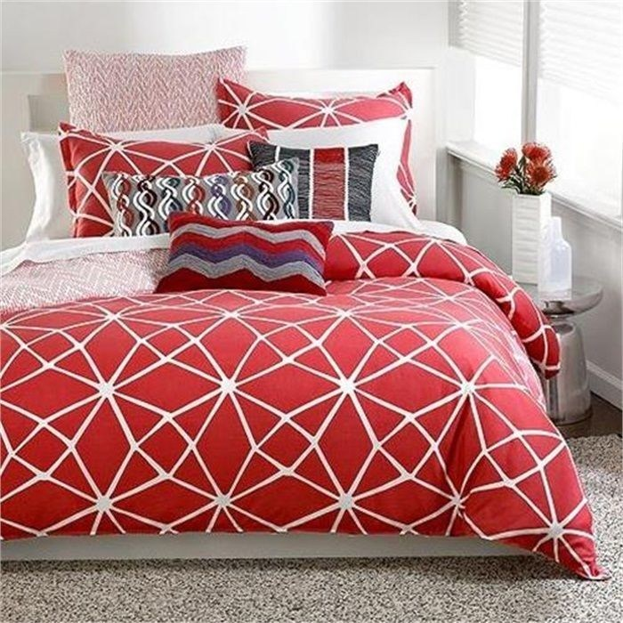 Coral Comforter Set Twin