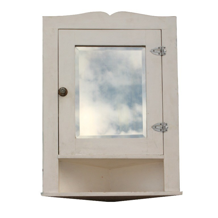 Corner Bathroom Cabinet With Mirror