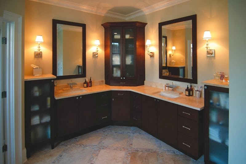 Corner Bathroom Cabinets