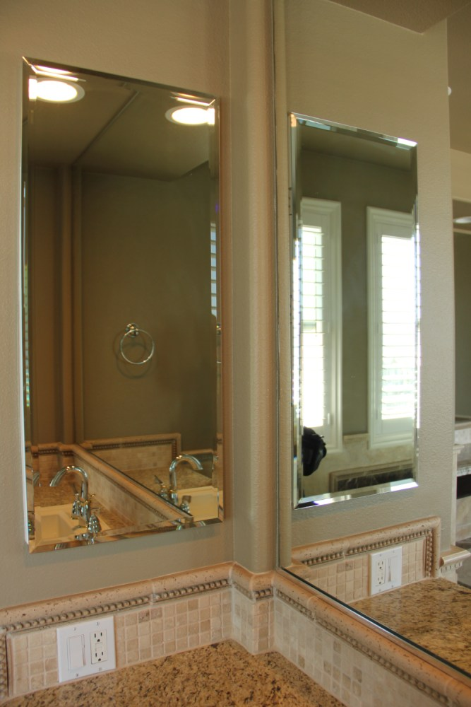 Corner Bathroom Mirror