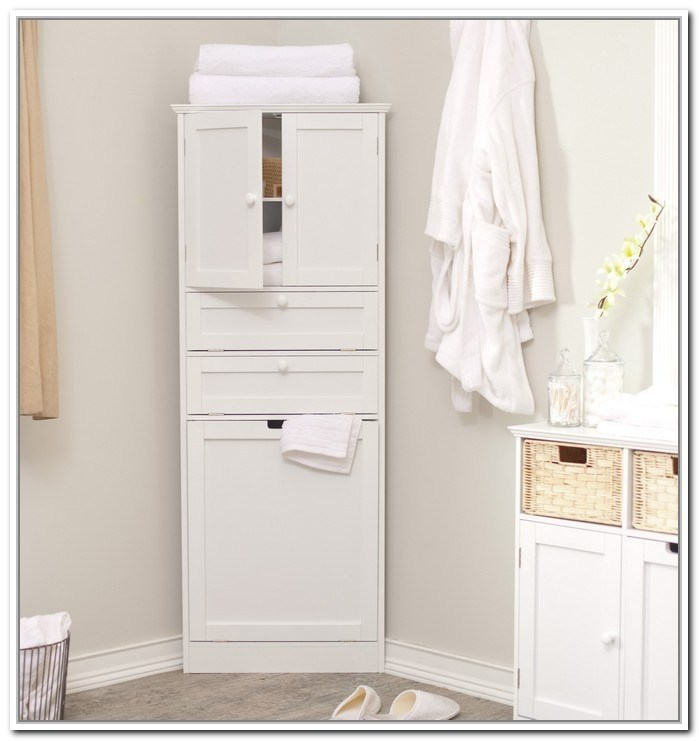 Use The Corner Space With Bathroom Corner Cabinets For Bathroom Corner Cabinet