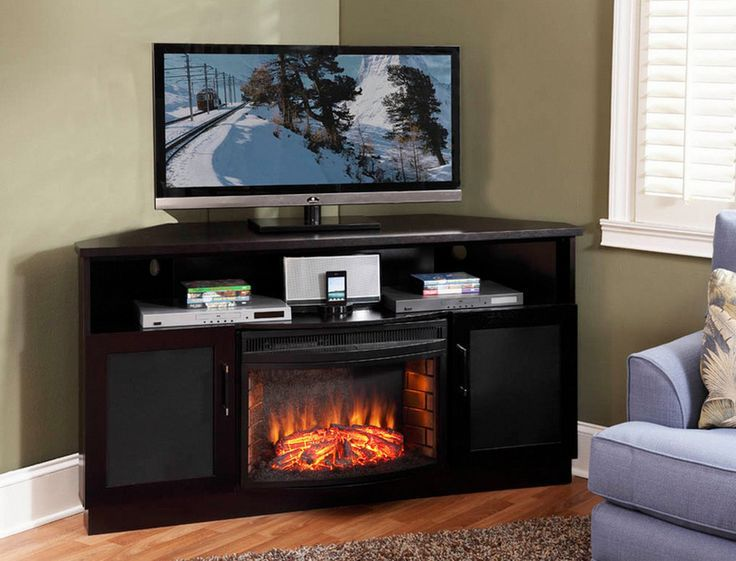 Corner Fireplace Tv Stand