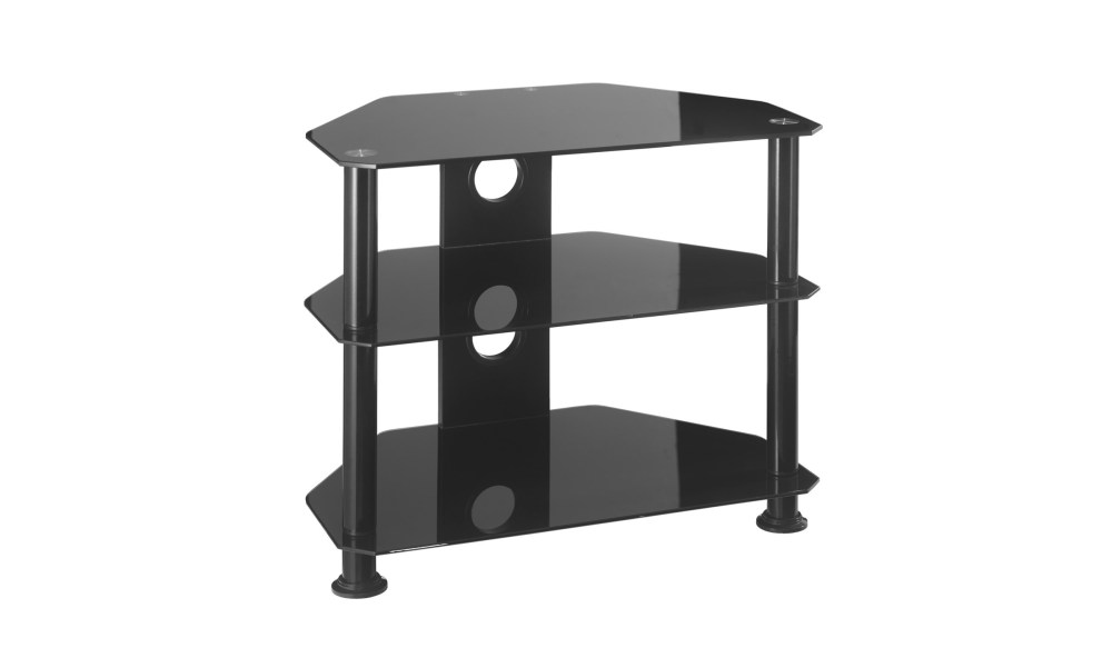 Corner Glass Tv Stand