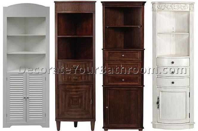 Corner Storage Cabinet For Bathroom
