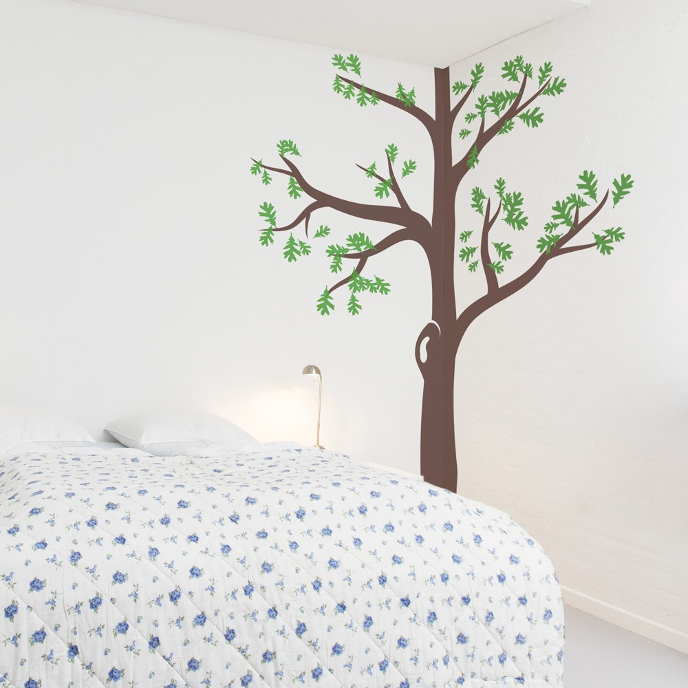 Corner Tree Wall Decals