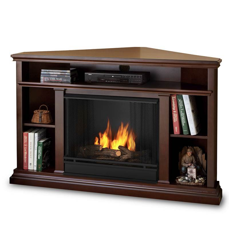 Corner Tv Fireplace Stand