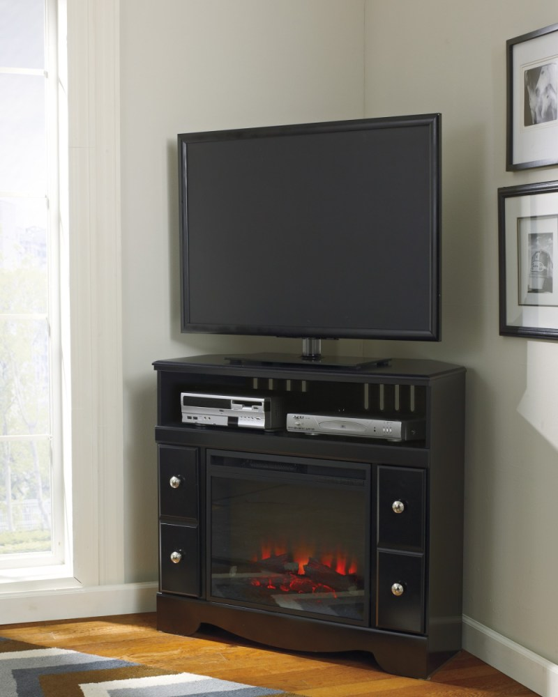 Corner Tv Stand With Fireplace Insert