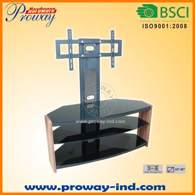 Corner Tv Stand With Mounting Bracket
