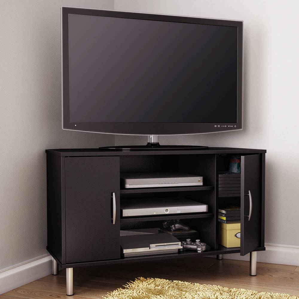 Corner Wooden Tv Stands For Flat Screens