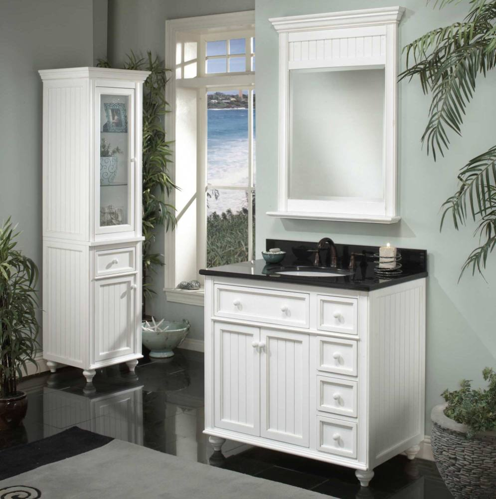 Cottage Bathroom Mirror Ideas