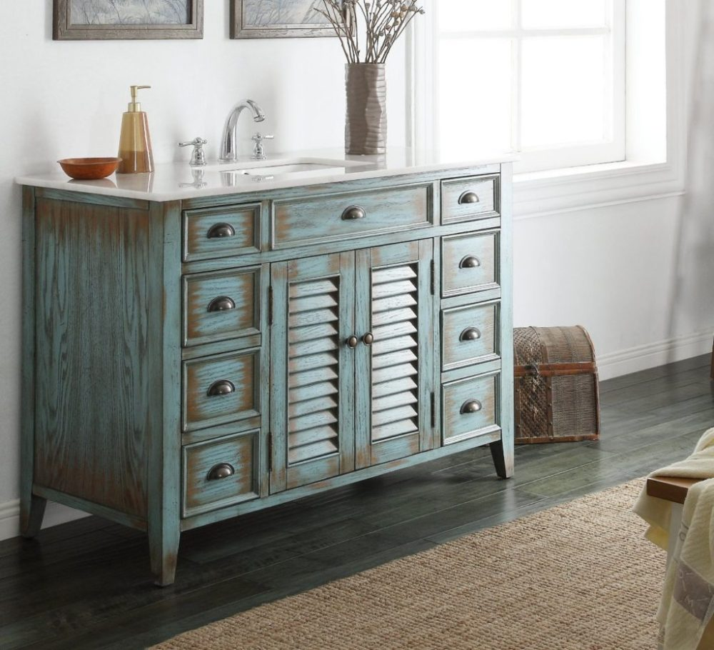 Cottage Style Bathroom Vanities Cabinets