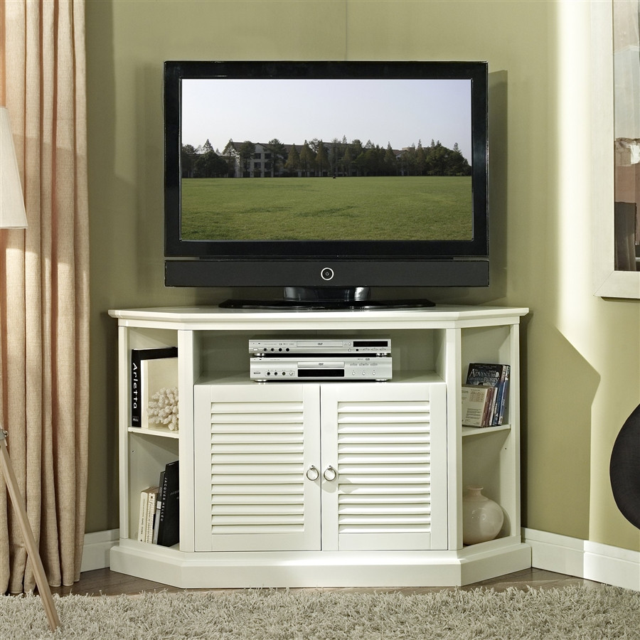 Cottage Tv Stand White