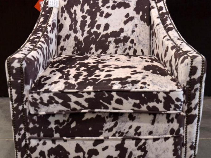 Cow Print Office Chair