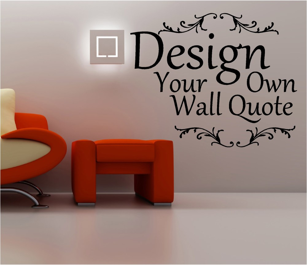 Create Wall Decals Quotes
