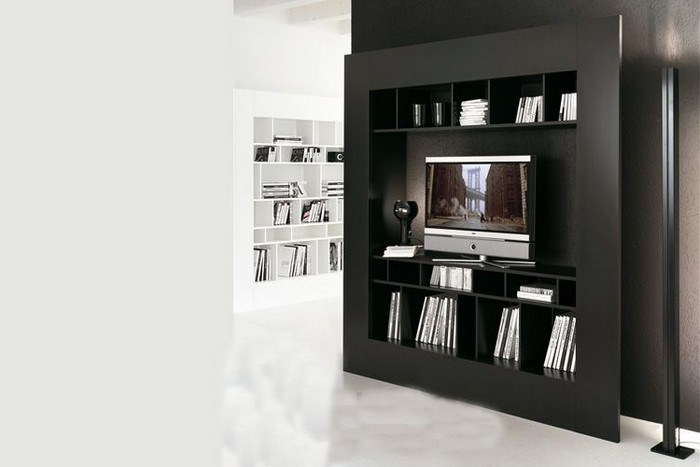 Cubby Storage Tv Stand